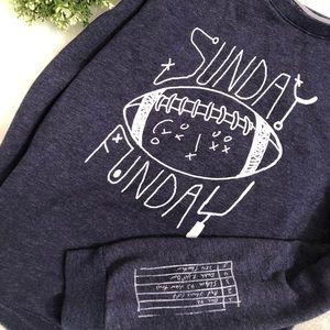 Cat & Jack Football Sweatshirt
